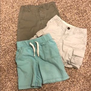 Lot of 3 pairs of Boys 3T shorts
